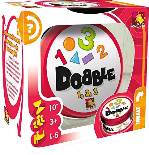 Asmodee 002964–Juego de Aprendizaje–dobble 1/2/3, multicolor , color/modelo surtido