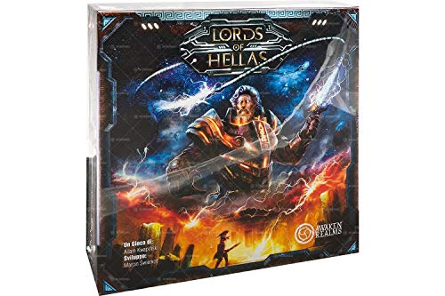 Asmodee Italia Lords of Hellas juego de mesa, Color Negro, 10500 , color/modelo surtido