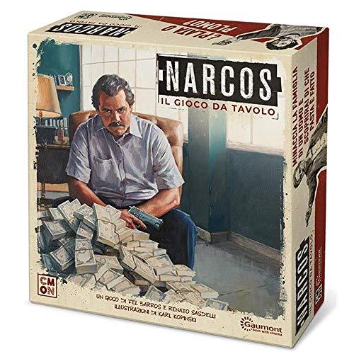 Asmodee Italia - Narcos El Juego de Mesa con espléndidas miniaturas, Color, 8421