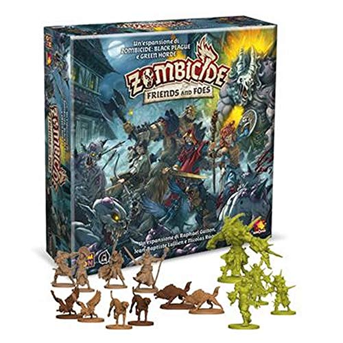 Asmodee Italia Zombicide Green Horde-Friends and Foes, Juego de Mesa, Color 8439
