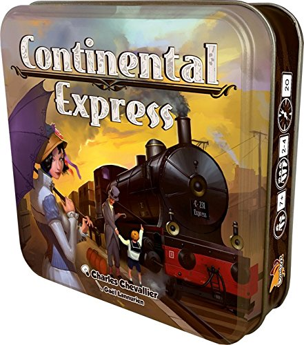 Asmodée - Jeu de Société - Continental Express - 3558380018124