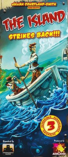 Asmodee- Juego de Tablero The Island Strikes Back (ISL02ML)