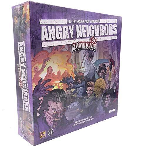 Asmodee- Zombicida Angry Neighbors, EFCMZC06