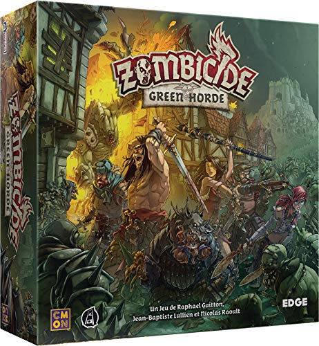 Asmodée - Zombicide Black Plague : Green Horde - 8435407619999