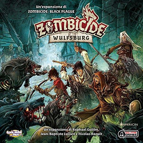 Asterion 8436–Juegos Zombicide Black Plague Wulfsburg, edición Italiana