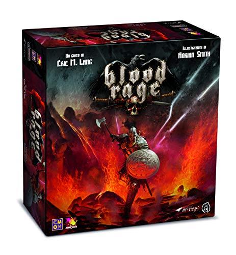 Asterion 8730–Blood Rage, edición Italiana, Multicolor