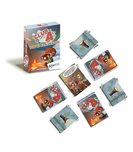 Átomo Games Club A. Pack de 3 Juegos: Jeff el grumete, Bob el Explorador y Jessie The Tourist