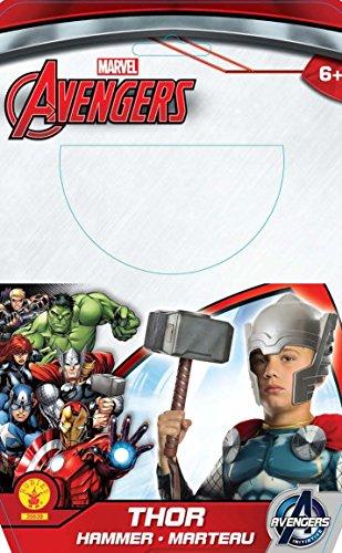 Avengers - Martillo de Thor para disfraz de niño, Talla única infantil (Rubie's 35639)