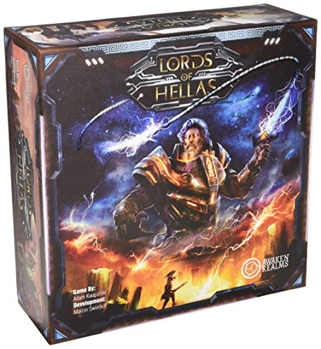 Awaken Realms ARLOH001 Lords of Hellas - Juego de mesa, multicolor , color/modelo surtido