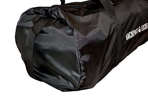 Backpack Locker Lightweight - Funda de mochila para viajes aéreos – bolso de hombro, grande (100l) - ¡un candado gratis!