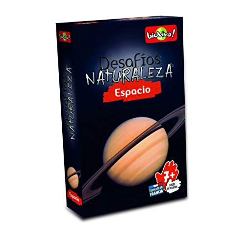 Bioviva Juego Cartas Desafios de la Naturaleza Espacio-Español