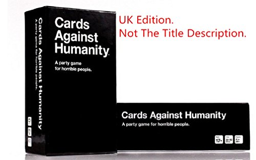 Cards Against Humanity: Edicion del Reino Unido.