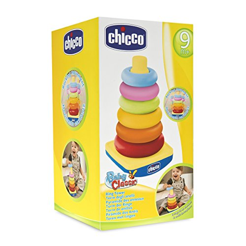 Chicco-00.007423.500.000 Big & Small Primeros Juguetes, Multicolor (Boppy 00007423500000)