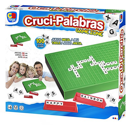Color Baby- Palabras cruzadas, juego de mesa, 29 x 5 x 26 cm (43314.0) , color/modelo surtido