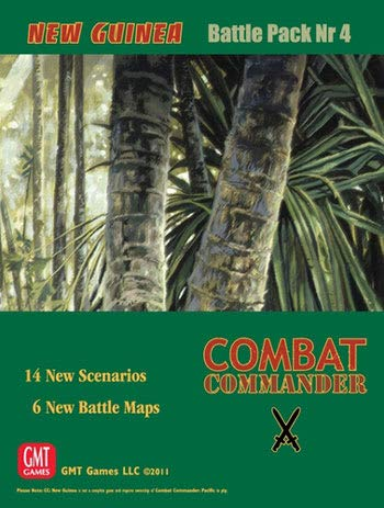 Combat Commander: New Guinea Expansion, 2nd Printing