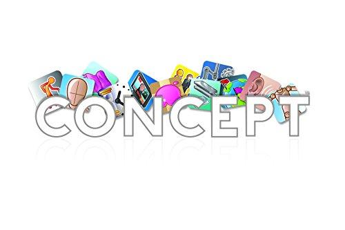 Concept Boardgame - Juego de Mesa (Asmodee ASMCONUS01) Versión en inglés
