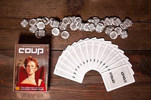 COUP - Juguete (Indie Boards & Cards IBCCOU1) (versión en inglés)