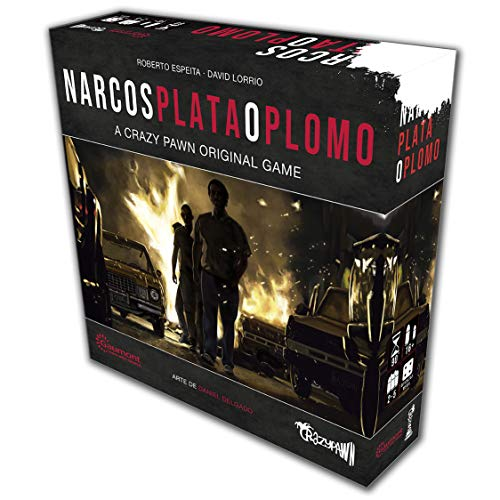 Crazy pawn Juego de Mesa Narcos: Plata o Plomo, Multicolor (8436581780130)