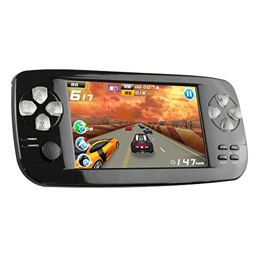 CXYP Consola de Juegos Portátil, 3000 Juegos Retro 4.3 Pulgadas 16 GB Consolas de Videojuegos Portátiles con Cámara Nueva Versión (Negro)