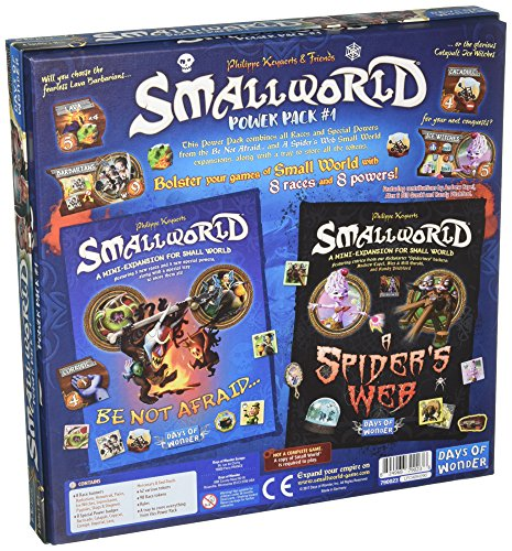 Days of Wonder Small World Race Collection Power Pack 1 - English