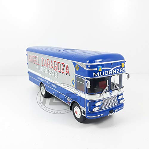 Desconocido 1/43 CAMIÓN Truck Pegaso 1095 DLR CAPITONE 1968 MUDANZAS Angel Zaragoza