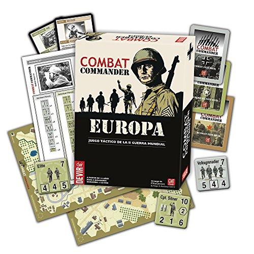 Devir - Combat Commander: Europe, Juego de Mesa en Castellano (221923)