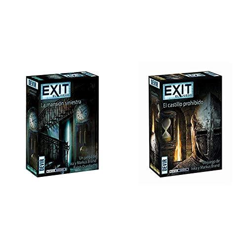 Devir - Exit 11, La mansión siniestra (BGEXIT11) + - Exit: El Castillo Prohibido, Ed. Español (BGEXIT4)