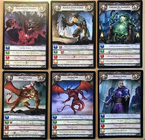 Devir- Hero Realms: La Perdición de Thandar, Multicolor (BGHRUI)
