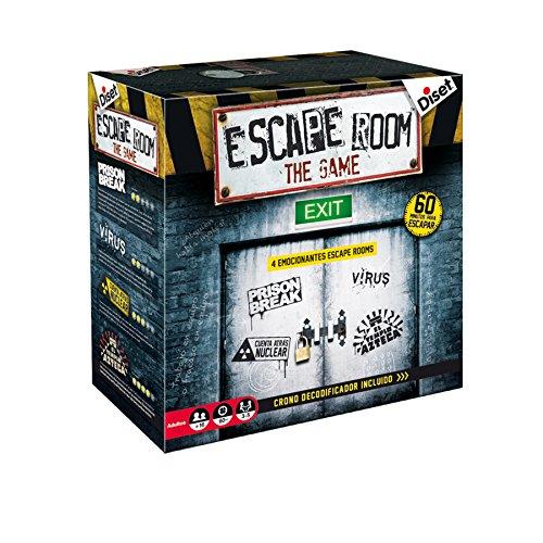 Diset- Juego Escape Room Habilidad/Estrategia, Miscelanea (62304) , color/modelo surtido