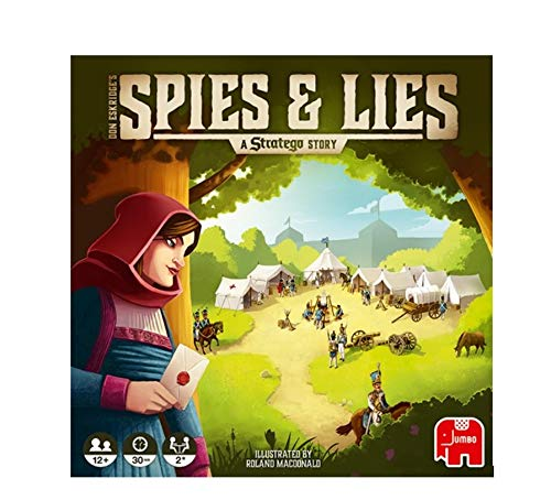 Diset Spies and Lies: A Stratego Story - Juego de Mesa [Castellano]
