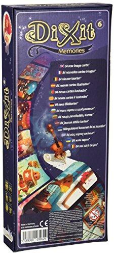 DIXIT Expansión - Todas las expansiones disponibles - Dixit Memories (Libellud DIX08ML)