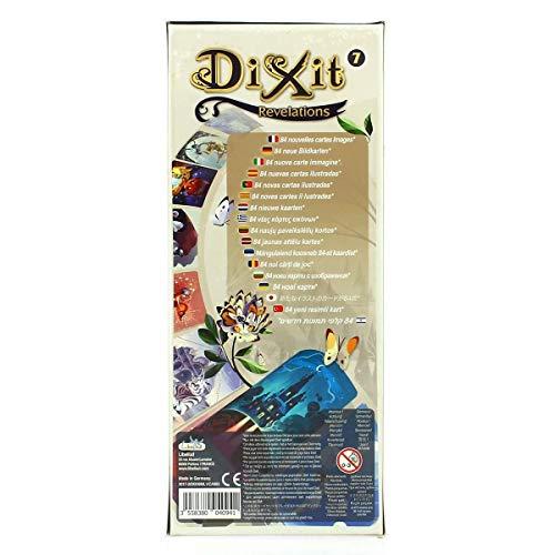 DIXIT Expansión - Todas las expansiones disponibles - Dixit Revelations (Libellud DIX09ML)