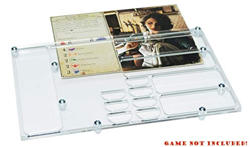 docsmagic.de 6 x Player Organizer for Arkham Horror 3rd Edition- Tablero de Jugadores