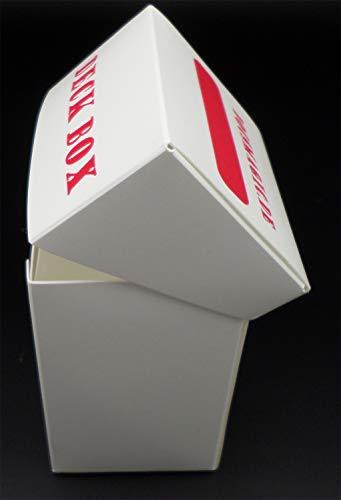 docsmagic.de 8 x Deck Box White + Card Divider - Caja Blanco - PKM - YGO - MTG
