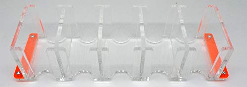docsmagic.de Card Holder - 5-Compartment Clear 520+ Mini Cards- Titular de la Tarjeta Transparente
