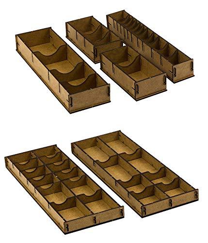 docsmagic.de Organizer Insert for Caverna Box - Encarte