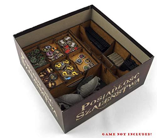 docsmagic.de Organizer Insert for Mansions of Madness: Second Edition Box - Encarte