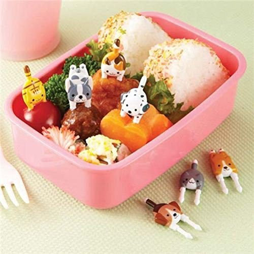 dog cat food picks forks for Bento Box Lunch Box by Kawaii