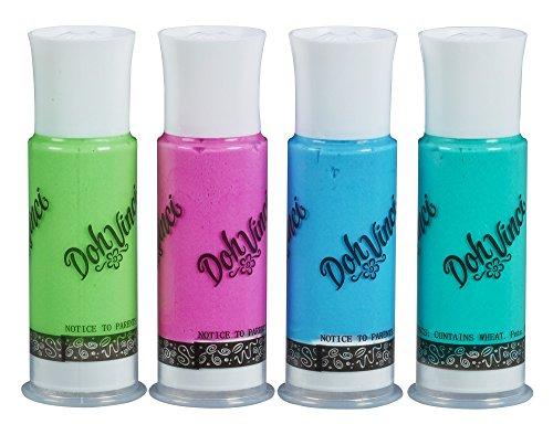 Dohvinci Deco Pop 4-pack, Cool Colors