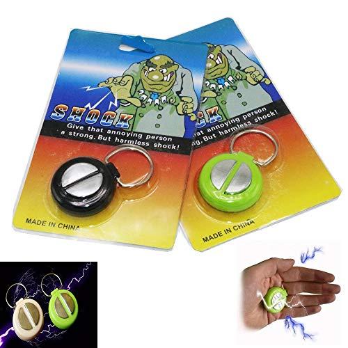 Dorime 2pcs día de los Inocentes de la Descarga eléctrica del apretón de Manos Broma de la Broma Divertidos Juguetes electrónicos