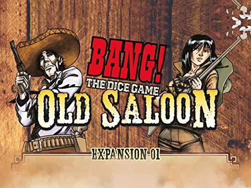dV Giochi dvg9112–The Dice Game Old–Expansión del Sedán Juegos de Dados de Bang.
