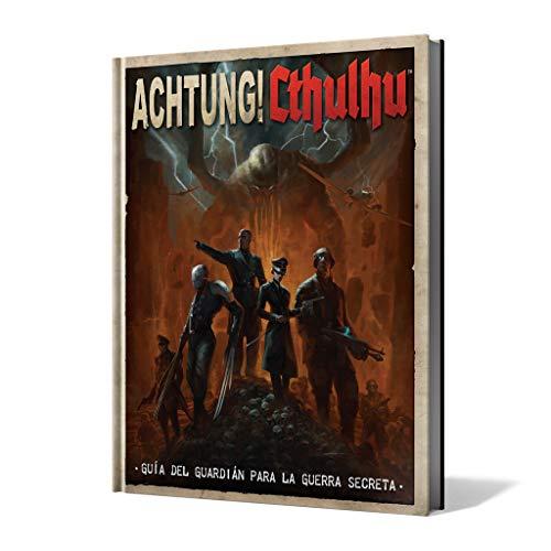 Edge Entertainment-Achtung Cthulhu: guía del guardián para la Guerra Secreta-español, Color (EEMOAC01)