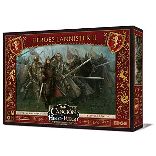 Edge Entertainment- Canción de Fuego y Hielo el Juego de Miniaturas - Héroes Lannister II, Color (EECMSI20)
