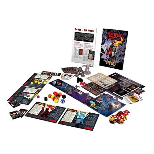 Edge Entertainment- Hellboy: el Juego de Tablero, Color (EEMTHB01)