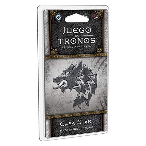 Edge Entertainment- Juego de Tronos LCG: Mazo introductorio de la Casa Stark - Español, Multicolor (GT37ES)