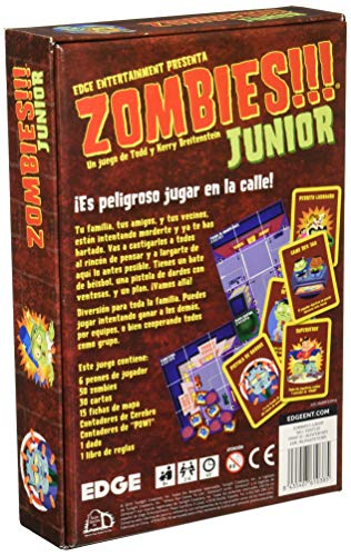 Edge Entertainment- Junior, Juego de Tablero (Asmodee EDGTC50)