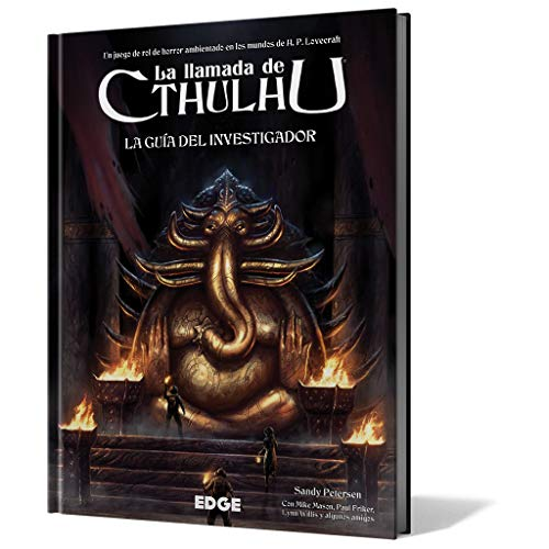 Edge Entertainment-La Llamada de Cthulhu-Guía del investigador, Color (EECHCT02)