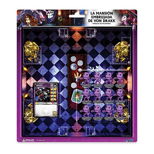 Edge Entertainment - La mansión embrujada de Von Drakk- Módulos de mazmorra: Super Dungeon Explore (EDGND12)