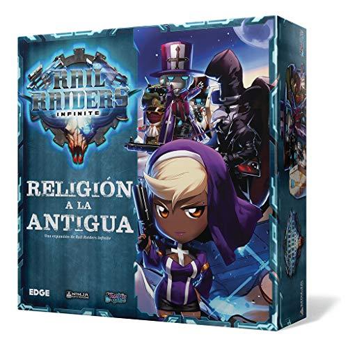 Edge Entertainment- Rail Raider: religión a la Antigua - español, Color (EENDRR02)