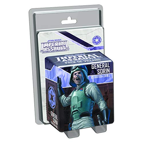 Edge Entertainment- Star Wars Imperial Assault, General Sorin, Estratega Cruel (EDGSWI20)